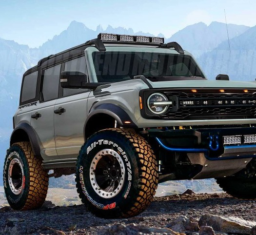 2022 Ford Bronco Redesign