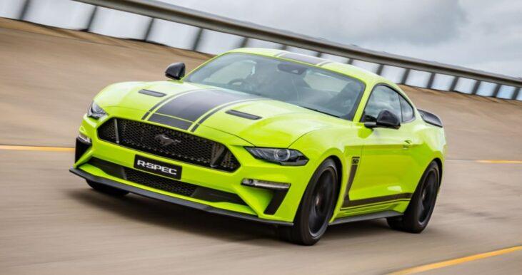 2022 Ford Mustang Rendering