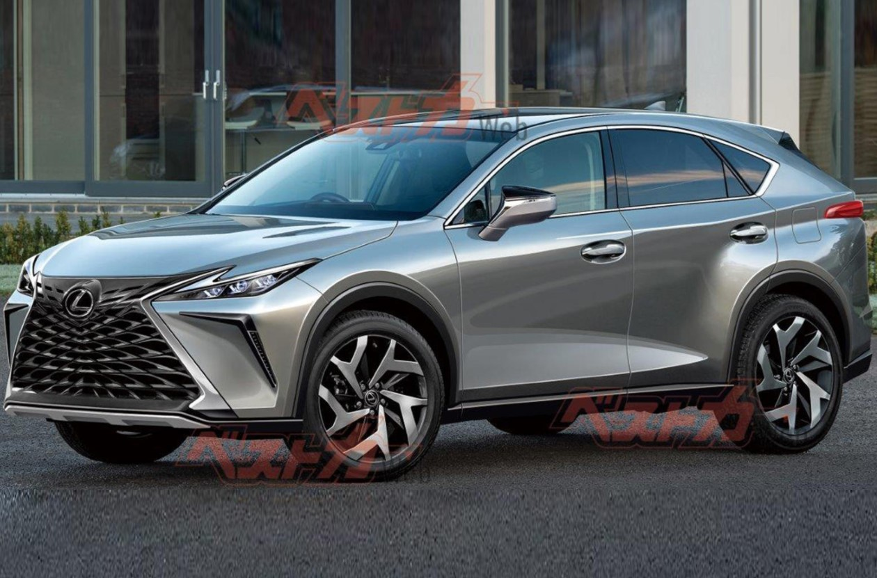 the changes of second generation 2022 lexus nx