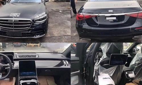 2022 Mercedes S Class Spy Shots