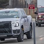 2022 Ford Ranger Spy Shot