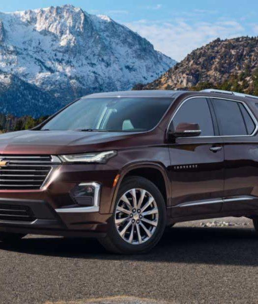 2022 Chevrolet Traverse Release Date