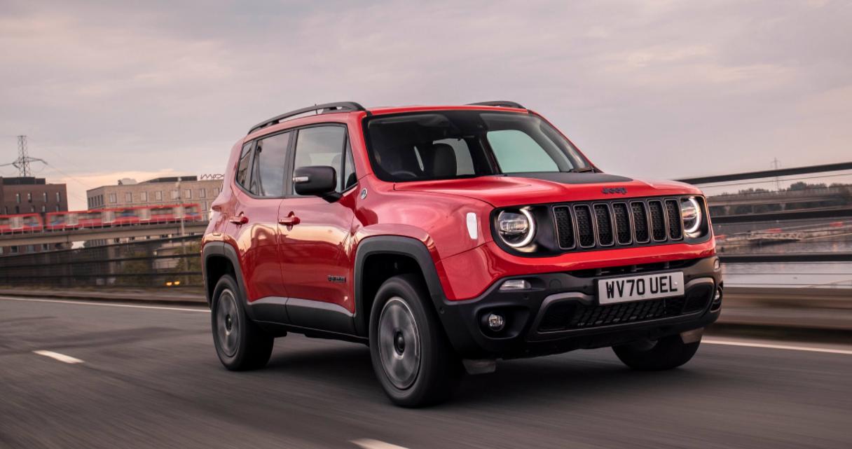 2022 Jeep Renegade 4Xe Redesign