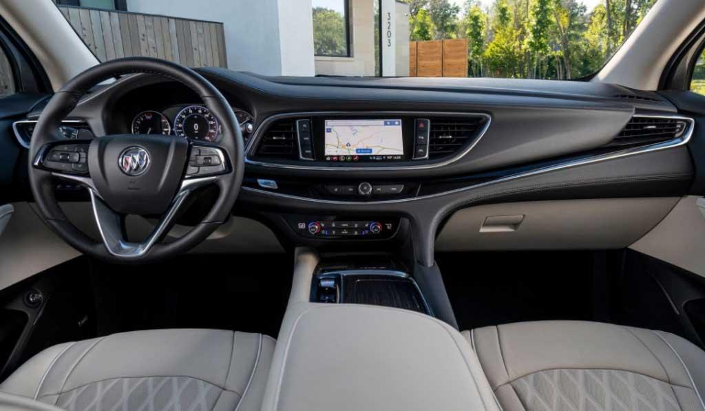 2022 Buick Enclave Interior