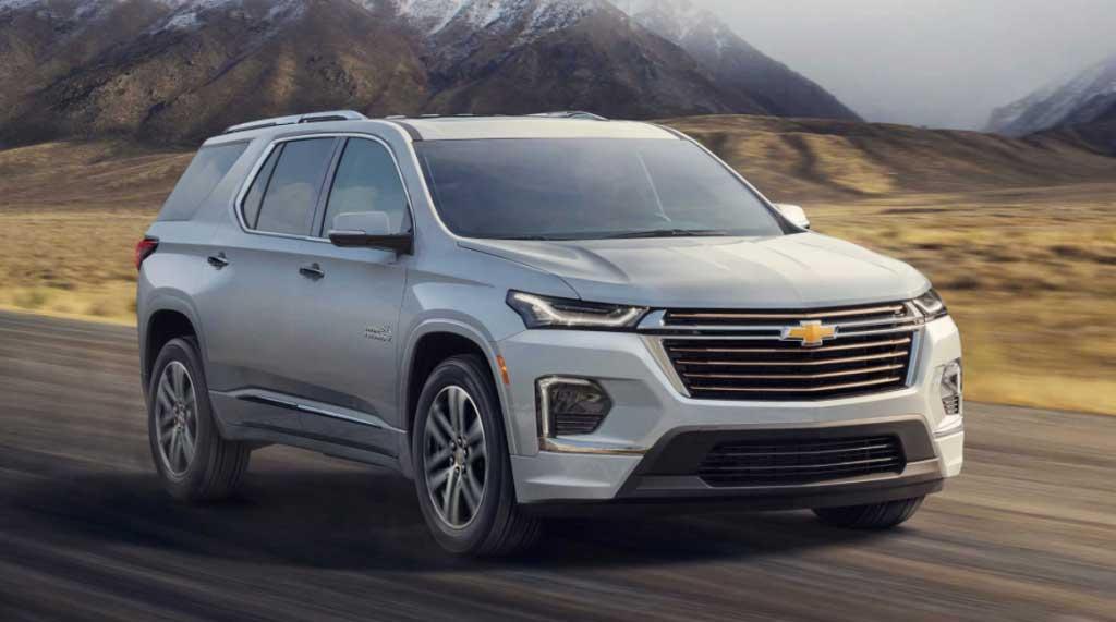 2022 Chevrolet Traverse Colors